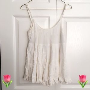 ANGL tiered tank top